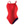 Speedo Solid Female Flyback - Red/Navy - 22
